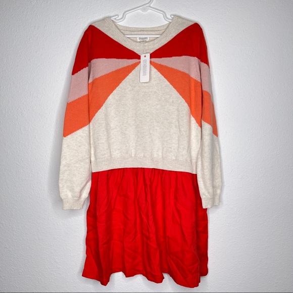 New Gymboree sweater dress sz 7-8 M